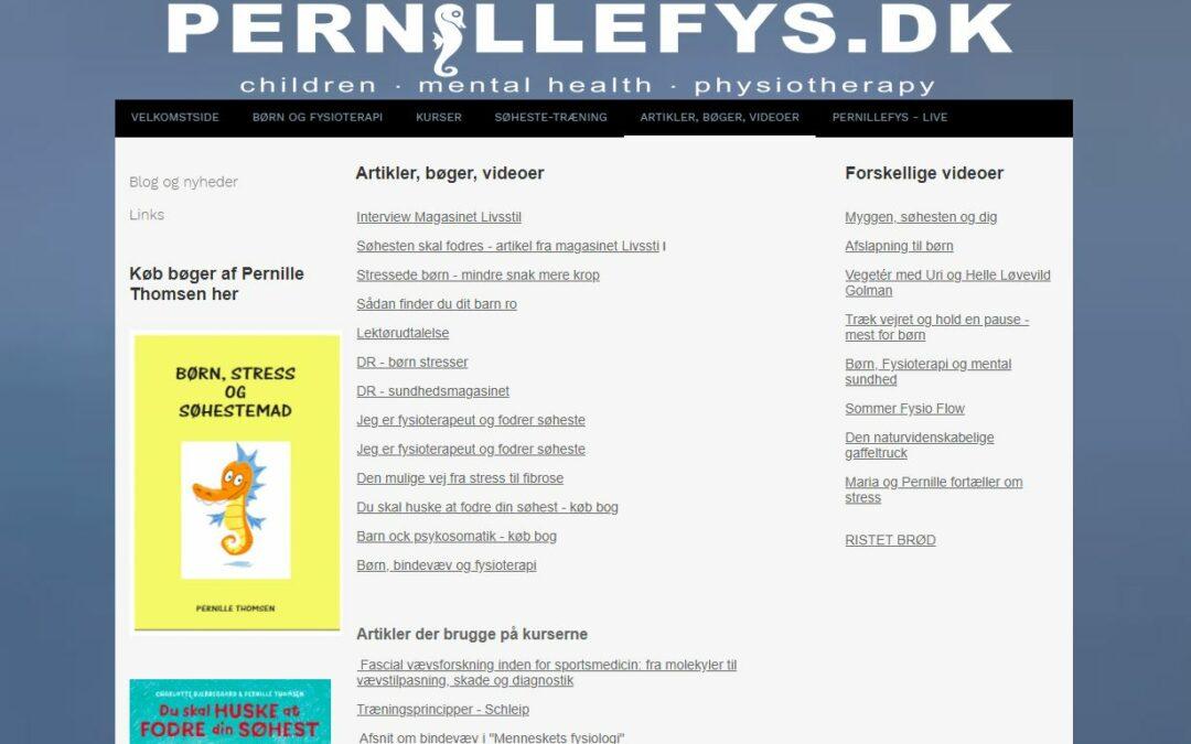 pernillefys.dk hjemmeside